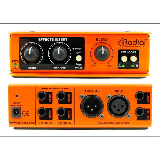 Radial Engineering EXTC SA - Guitar Pedal Send & Receive