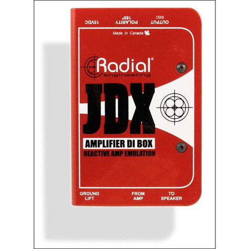 Radial Engineering JDX Reactor Guitar Amp Direct Box
