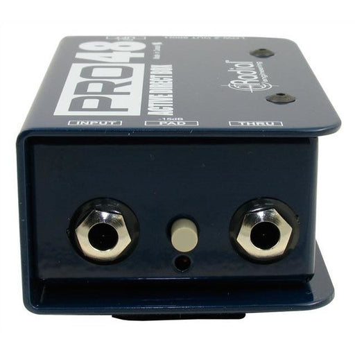 Radial Engineering Pro48 - Phantom Powered Active DI Box