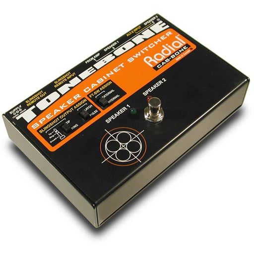 Radial Engineering ToneBone Cabbone - Speaker Cab Switcher for 100w Amps