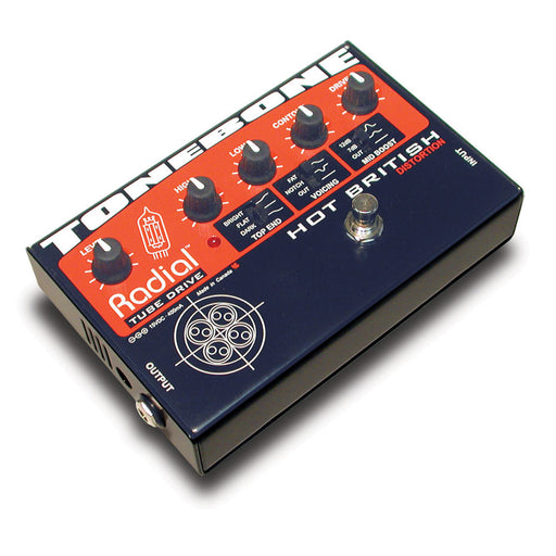 Radial Engineering ToneBone Hot British - British Style Tube Distortion Pedal