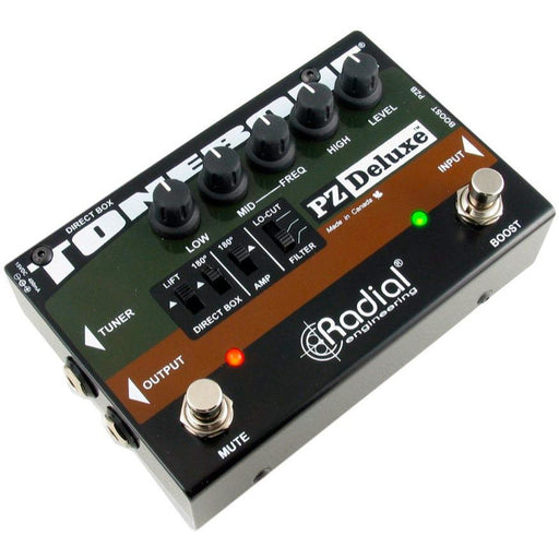 Radial Engineering ToneBone PZ-Deluxe - Acoustic Instrument PreAmp
