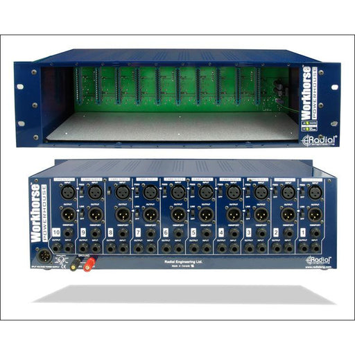 Radial Engineering PowerHouse - 10 Slot Workhorse Rack