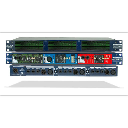 Radial Engineering PowerStrip - 1u 3-Slot Chassis for LB Modules