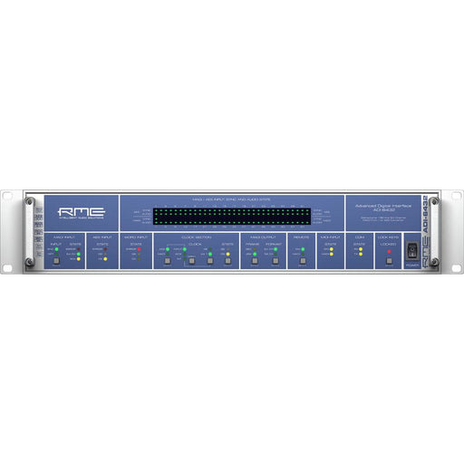 RME ADI-6432 Redundant PSUs - Bidirectional 64-channel 192 kHz MADI to AES/EBU Converter