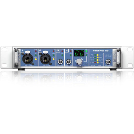 "RME Fireface UC - 36 Channel Hi-Performance Audio I/O. 9 1/2"", 1U"