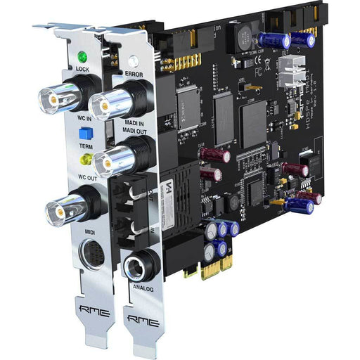 RME HDSPe MADI PCIe 2x64 Channel I/O PCI Express Card
