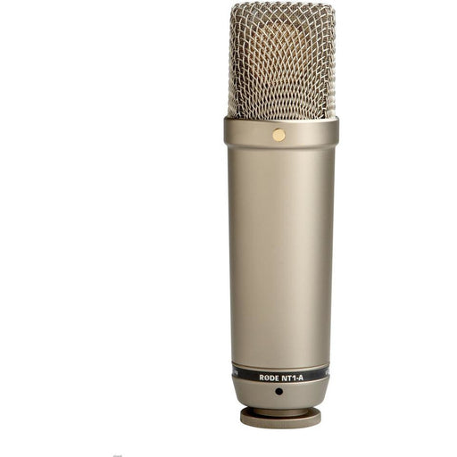 Rode NT1A Vocal Pack - Studio Cardioid Condenser Mic with Pop Shield, Shock Mount & 6m Cable