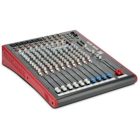 Allen & Heath ZED14 Mixer - 6 Mono 4 Stereo with USB and Sonar L.E. Software