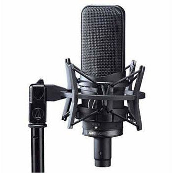 Audio Technica AT4050 Multi Pattern Studio Microphone with AT8430 stand clamp