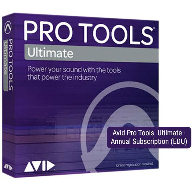 Avid Pro Tools HD Ultimate - Annual Subscription Education