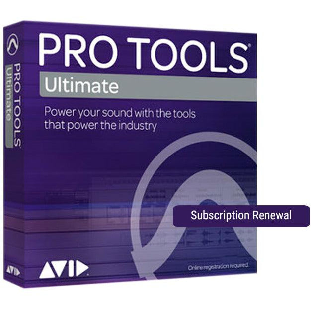 Avid Pro Tools Ultimate Subscription Renewal