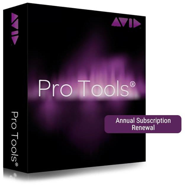 Avid Pro Tools - Annual Subscription Renewal