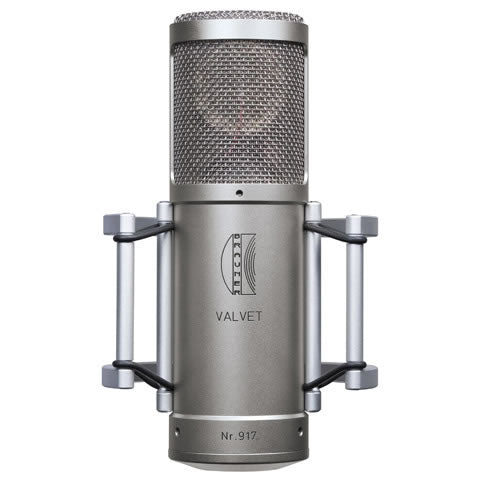 Brauner Valvet Large Diaphragm Microphone, inc. PSU, BMS-2 Elastic Suspension, Vovox Cable, cardioid and omni pattern