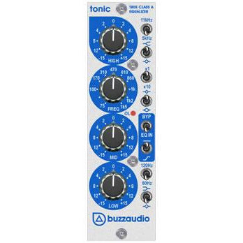 Buzzaudio Tonic - 3-band EQ API 500 Series