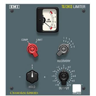 Chandler TG12413 Compressor /limiter TDM Plug-in - Model of the unmodified classic EMI TG12413 Limiter.