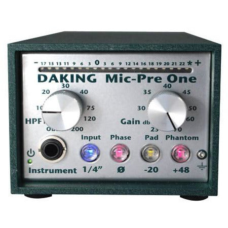 Daking Audio Mic Pre One - Single Channel Daking 52270 Preamp