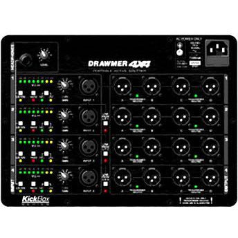 Drawmer 4X4 Portable Active Splitter - 4in/16out Mic/Line Signal Splitter