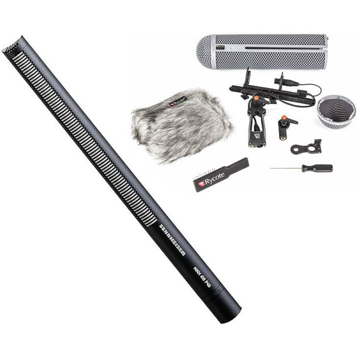 Sennheiser MKH 416 Bundle Shotgun Mic with Rycote Full 4 Windshield