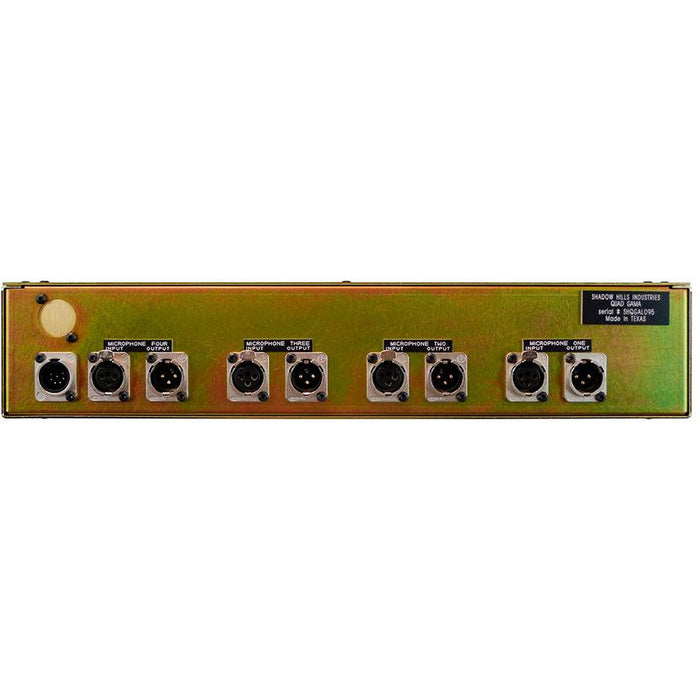 Shadow Hills Quad Gama - 4-Channel Mic Pre with switchable transformers (requires seperate PSU)