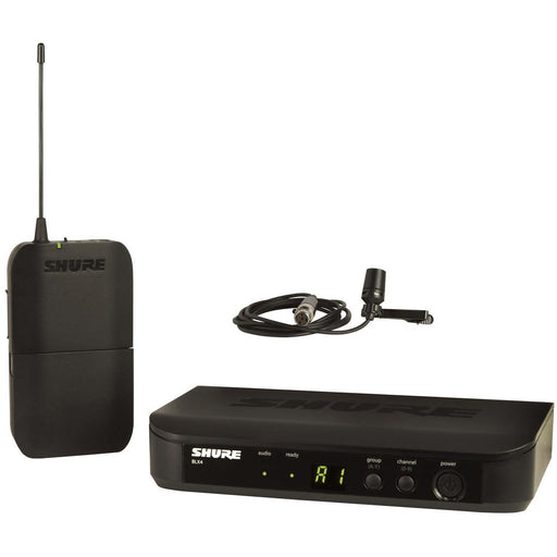 Shure BLX14UK/CVL - Wireless Lavalier System with CVL-B/C Lavalier Mic