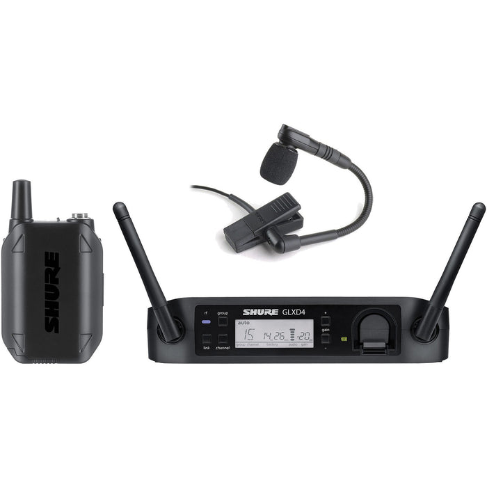 Shure GLXD14UK - Digital Wireless Instrument System with BETA98 Microphone