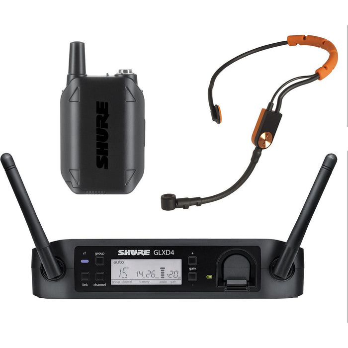 Shure GLXD14UK/SM31 - Digital Wireless System with SM31 Headset
