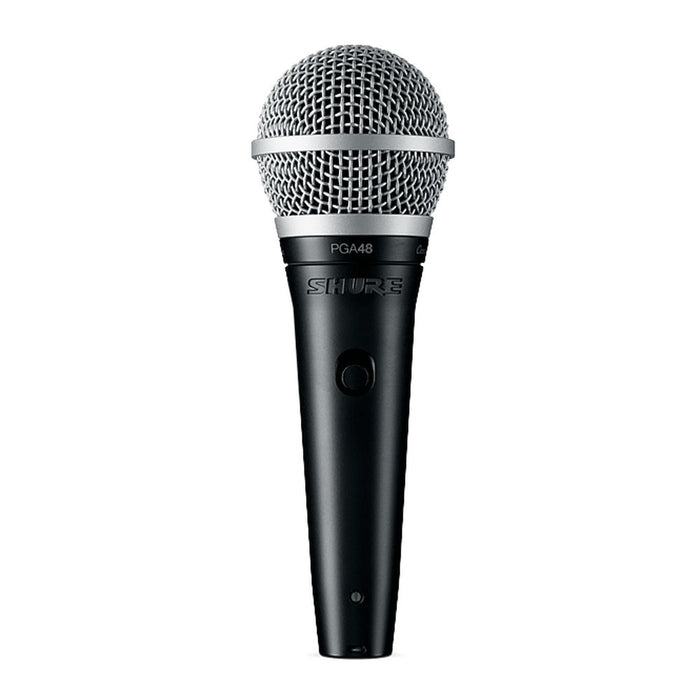 Shure PGA48-QTR-E - Dynamic Vocal Microphone with XLR-to-JACK Cable