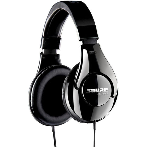 Shure SRH240A Stereo Headphones - closed, dynamic, neodymium driver Headphones