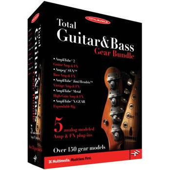 IK Multimedia Total Guitar & Bass Bundle