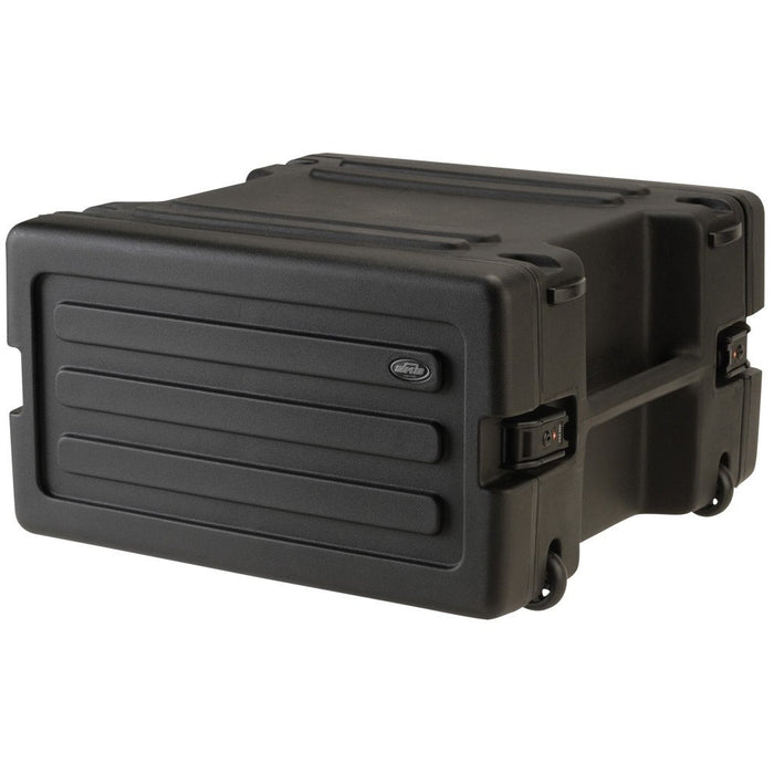 "SKB 1SKB-R6W - Wheeled Roto rack 19""; 6U CLosed"