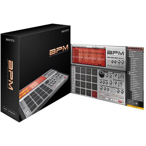 MOTU BPM Beat Production Machine Software