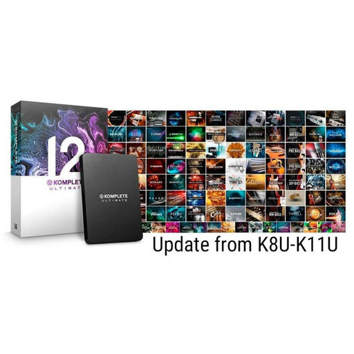 Komplete 12 Update from K8U-K11U