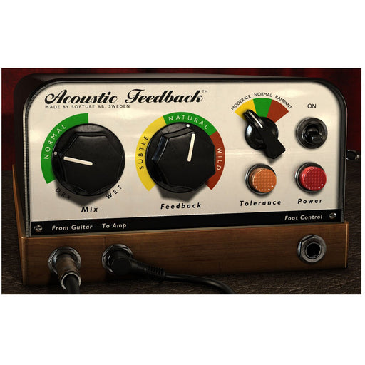 Softube Acoustic Feedback Plug-In
