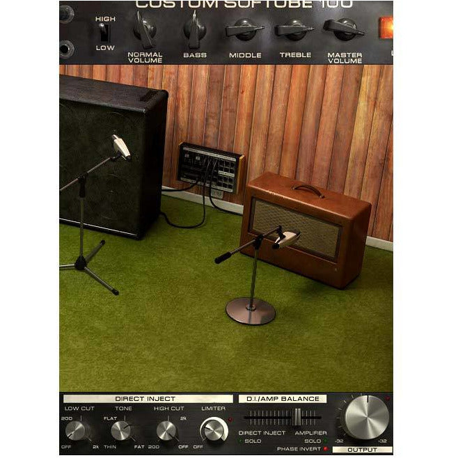 Softube Bass Amp Room Plug-In