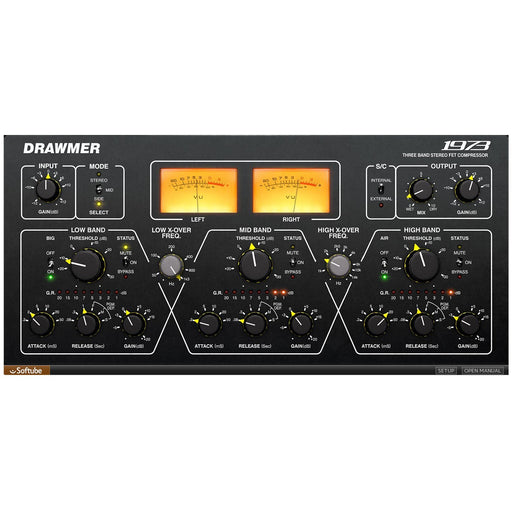 Softube Drawmer S1973 Multiband Comp Plug-In