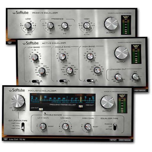 Softube Passive-Active Pack EQ Plug-Ins