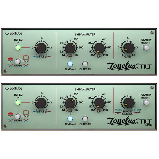 Softube Tonelux Tilt Plug-In