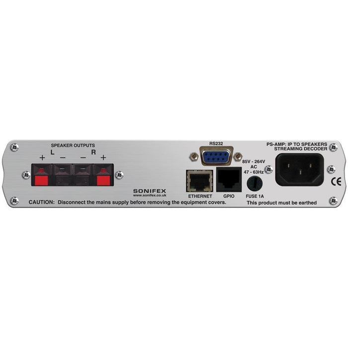 Sonifex PS-AMP - IP to Speakers Streaming Decoder