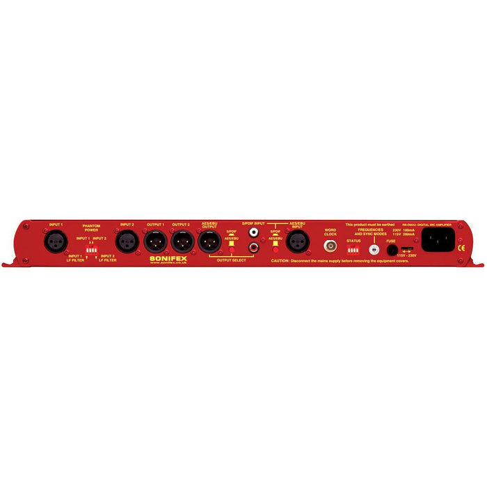 Sonifex RB-DMA2 - Dual Digital Microphone Amplifier