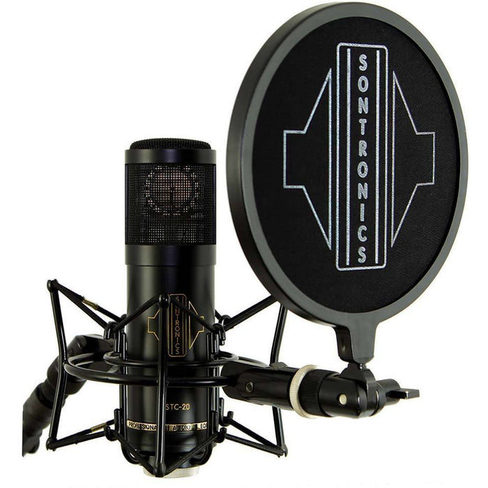 Sontronics STC-20 PACK - cardioid condenser microphone with accessories