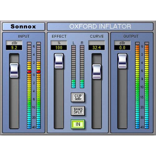 Sonnox Oxford Inflator Plugin HD-HDX (AAX DSP, TDM & Native)