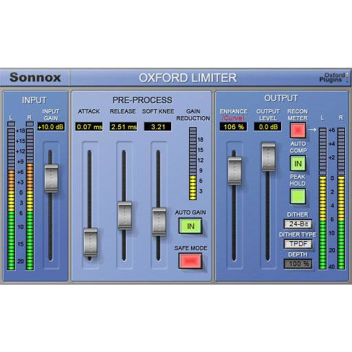 Sonnox Oxford Enhance Native Bundle (AAX Native, RTAS, AU & VST)