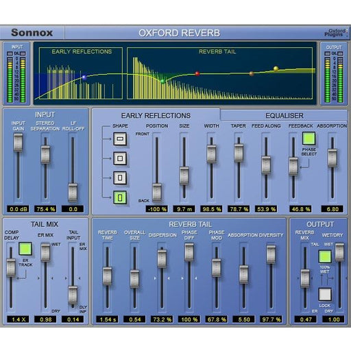 Sonnox Oxford Reverb Plugin HD-HDX