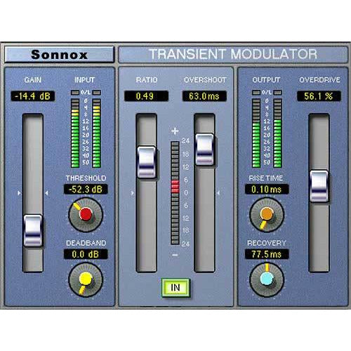 Sonnox Oxford TransMod Plugin TDM