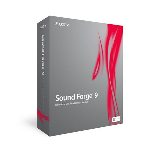 Sony Sound Forge 9 - Pro Audio editor