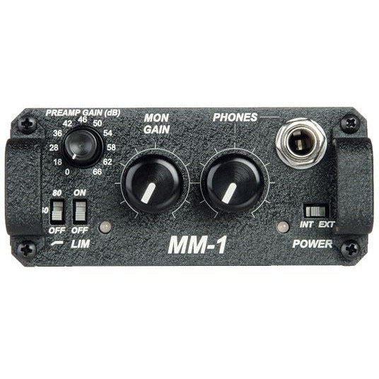 Sound Devices MM-1 Single Channel Battery powered Mic Pre