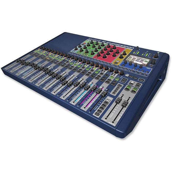 Soundcraft Si Expression 2 Mixer Front Angle