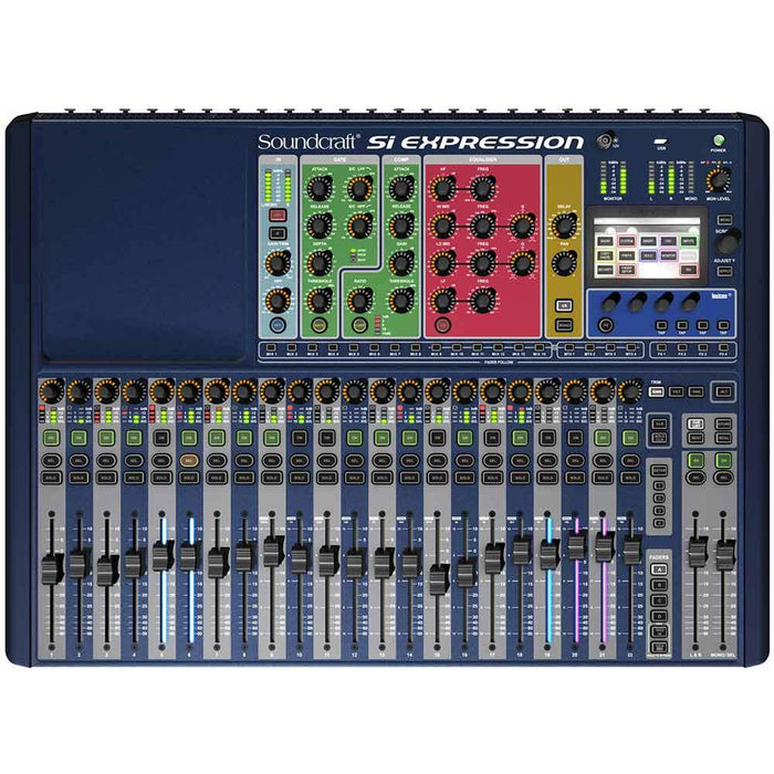 Soundcraft Si Expression 2 Mixer, MADI/USB card and Mini stagebox 32 Bundle