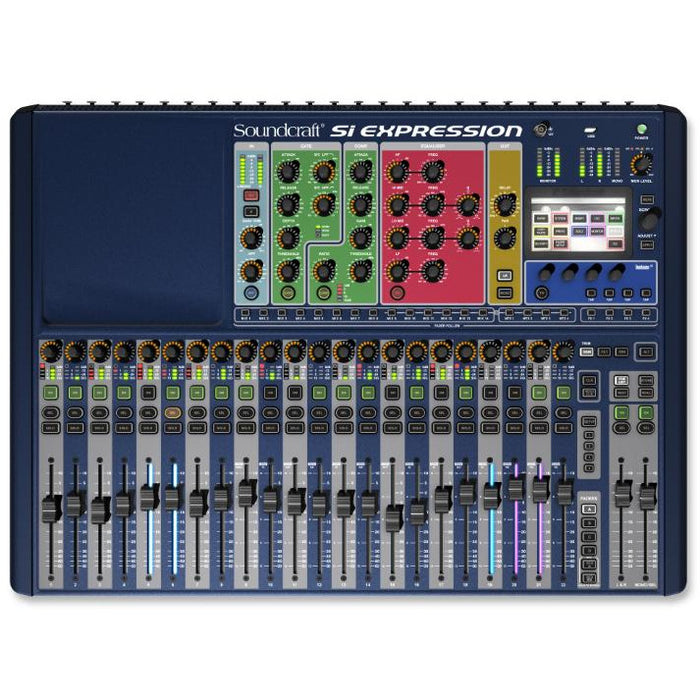Soundcraft Si Expression 2 Digital Console - 24 mic pres, 22 + 2 faders